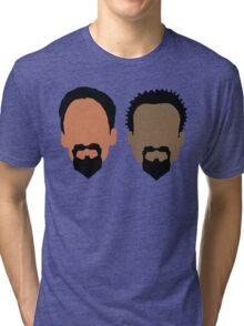 Evil Troy and Evil Abed Tri-blend T-Shirt