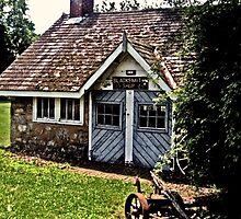 BlackSmith's Shop, Ringwood Manor, Ringwood NJ by Jane Neill-Hancock