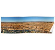 Outback Plains Panorama Poster
