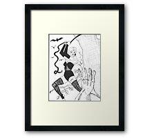 Gothic Heroine Framed Print