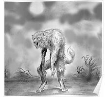 werewolf and wasteland Poster