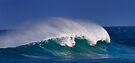 Surfer at Sunset Beach 3 by Alex Preiss