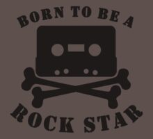 Born To Be A Rock Star Kids Clothes