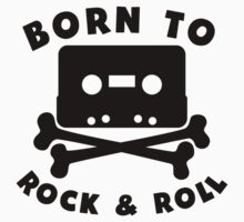 Born To Rock And Roll Kids Clothes