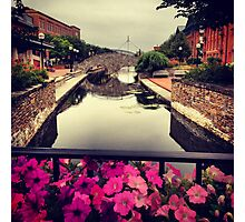 Old Stone Bridge Over Canal - Frederick, Maryland Photographic Print