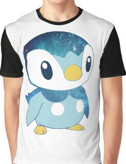 Galaxy Piplup Graphic T-Shirt