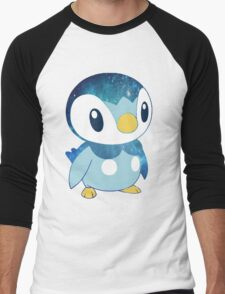 Galaxy Piplup Men's Baseball ¾ T-Shirt