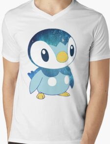 Galaxy Piplup Mens V-Neck T-Shirt