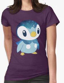 Galaxy Piplup Womens Fitted T-Shirt