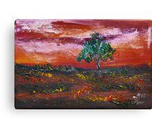 Silence in the Dawn Canvas Print