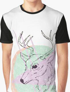 Simplistic Deer Graphic T-Shirt