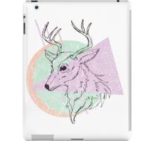 Simplistic Deer iPad Case/Skin