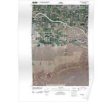USGS Topo Map Washington State WA Mabton East 20110407 TM Poster