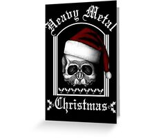 Heavy metal - Christmas Greeting Card