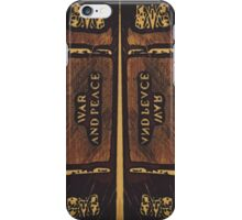 """War and Peace"" (B) iPhone Case/Skin"