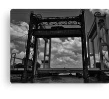 Lift Bridge Canvas Print