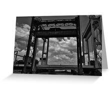 Lift Bridge Greeting Card