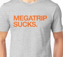 Megatrip Sucks (orange variant) Unisex T-Shirt