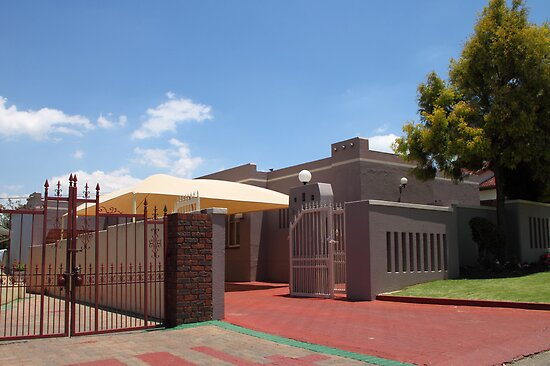 Middle Class House in Soweto by Carole-Anne