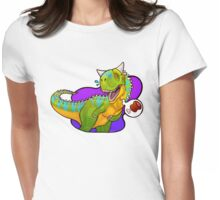 Hungry Carnotaurus Womens Fitted T-Shirt