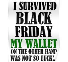 I SURVIVED BLACK FRIDAY Poster