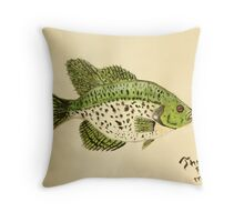 Crappie Throw Pillow