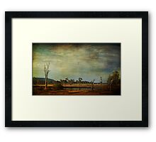 Outback Country II Framed Print