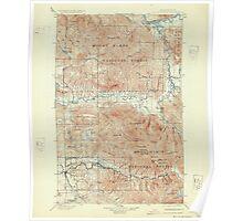 USGS Topo Map Washington State WA Stilaguamish 244055 1901 125000 Poster