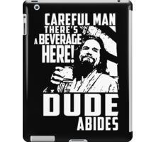 Big Lebowski - Dude Abides iPad Case/Skin