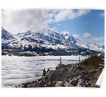 Landscape, Yukon Trail, Alaska. 2012. Poster