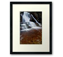 Falls Wilderness Framed Print