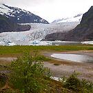 Mendenhall Glacier, Juneau, Alaska, 2012. by johnrf
