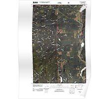 USGS Topo Map Washington State WA Uncas 20110505 TM Poster