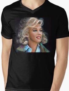 Marilyn 1 Mens V-Neck T-Shirt