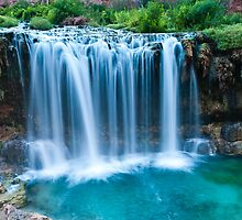 Lower Navajo Falls by teambergie