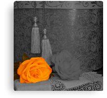 Golden Rose Selection Canvas Print