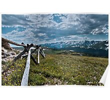 Above tree line Poster