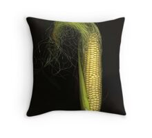 First Corn Throw Pillow