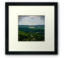 Atop Goat Hill Framed Print