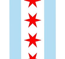 Flag of Chicago by iEric