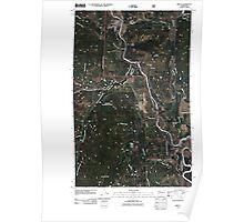 USGS Topo Map Washington State WA Orient 20110505 TM Poster