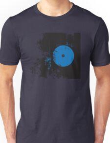 Faded Vinyl Blue Unisex T-Shirt