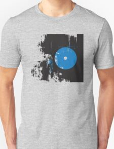 Faded Vinyl Blue T-Shirt