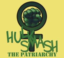 HULK SMASH The Patriarchy by paenteom