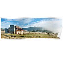 Old Currango Hut, Kosciuszko National Park, New South Wales, Australia Poster