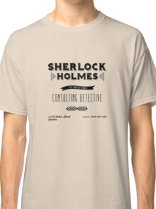 Sherlock Holmes' Business Card Classic T-Shirt