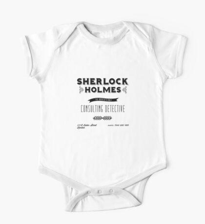 Sherlock Holmes' Business Card One Piece - Short Sleeve