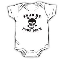 Swab Me Poop Deck One Piece - Short Sleeve