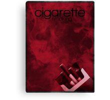 Cigarette Smoking Man minimalist poster  Canvas Print