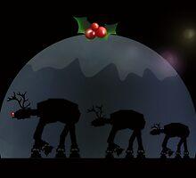 Christmas pud walk by JayZ99